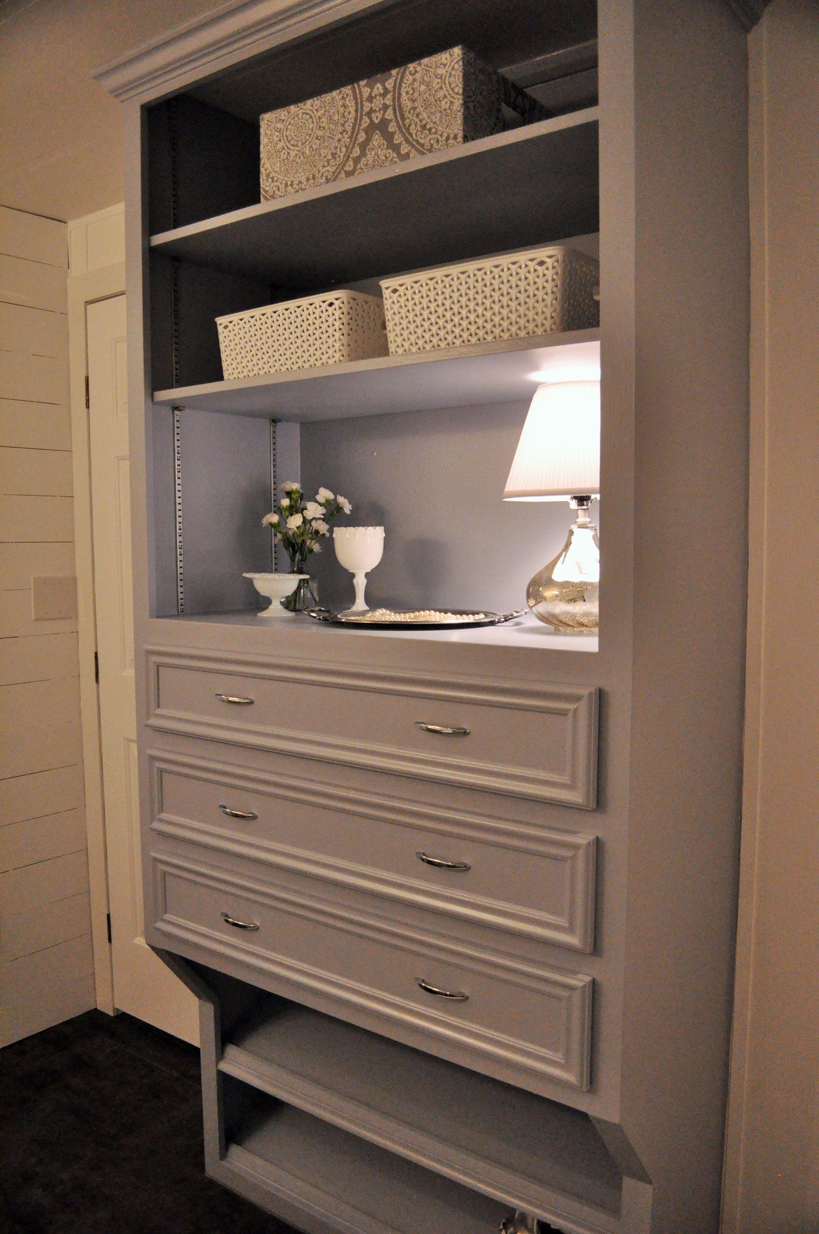 built in dresser shoe rack below and upper shelves which are adjustable phillips place. Black Bedroom Furniture Sets. Home Design Ideas