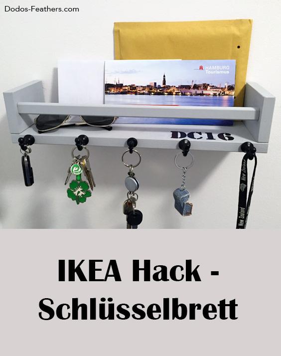 IKEA BEKVÄM als Schlüsselbrett – Dodo's Feathers