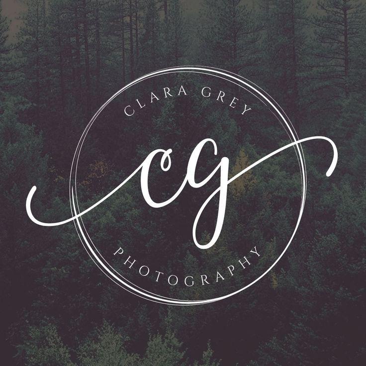 Wedding Branding Ideas: Circle Logo, Initials Logo, Photography Logo Design