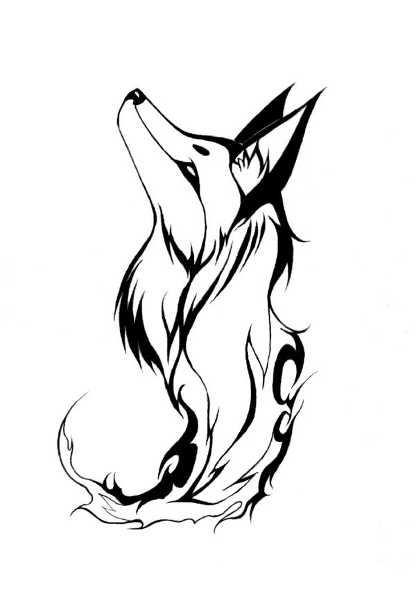 Google Image Result For Http Fc04 Deviantart Net Fs44 I 2009 154 D 2 Tribal Fire Fox By Mistress Of Dragons Png Fox Tattoo Design Tribal Fox Fox Tattoo