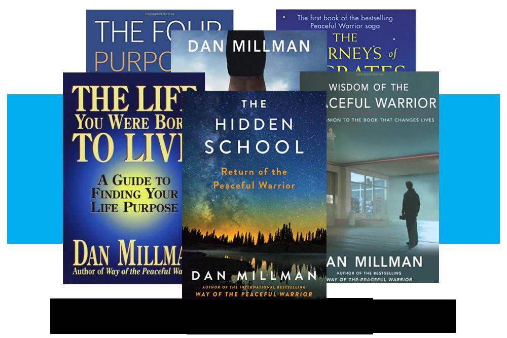 Books By Dan Millman The Peaceful Warrior 39 S Way Dan Millman Witchcraft Books Books