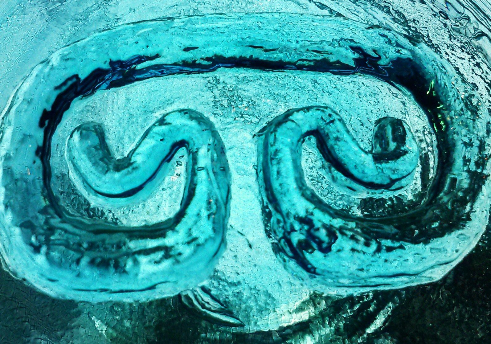 St John Usvi Petroglyph Recycled Glass A Symbol Of My Happy