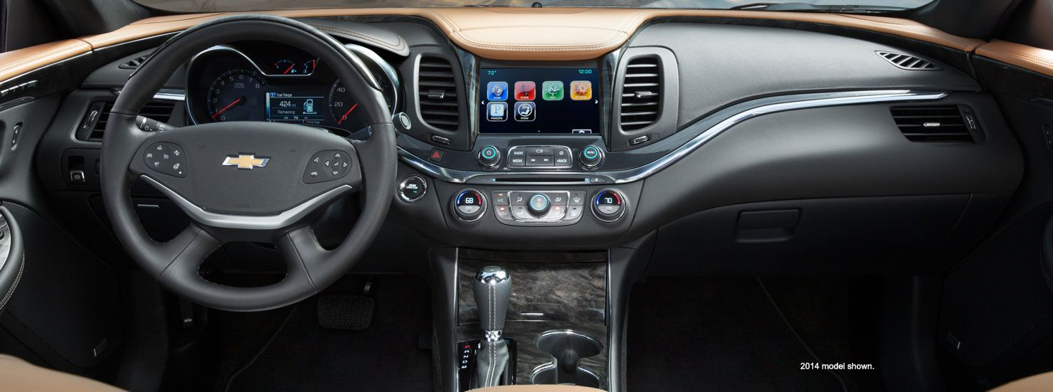 2015 Impala Full Size Cars Full Size Sedans Chevrolet