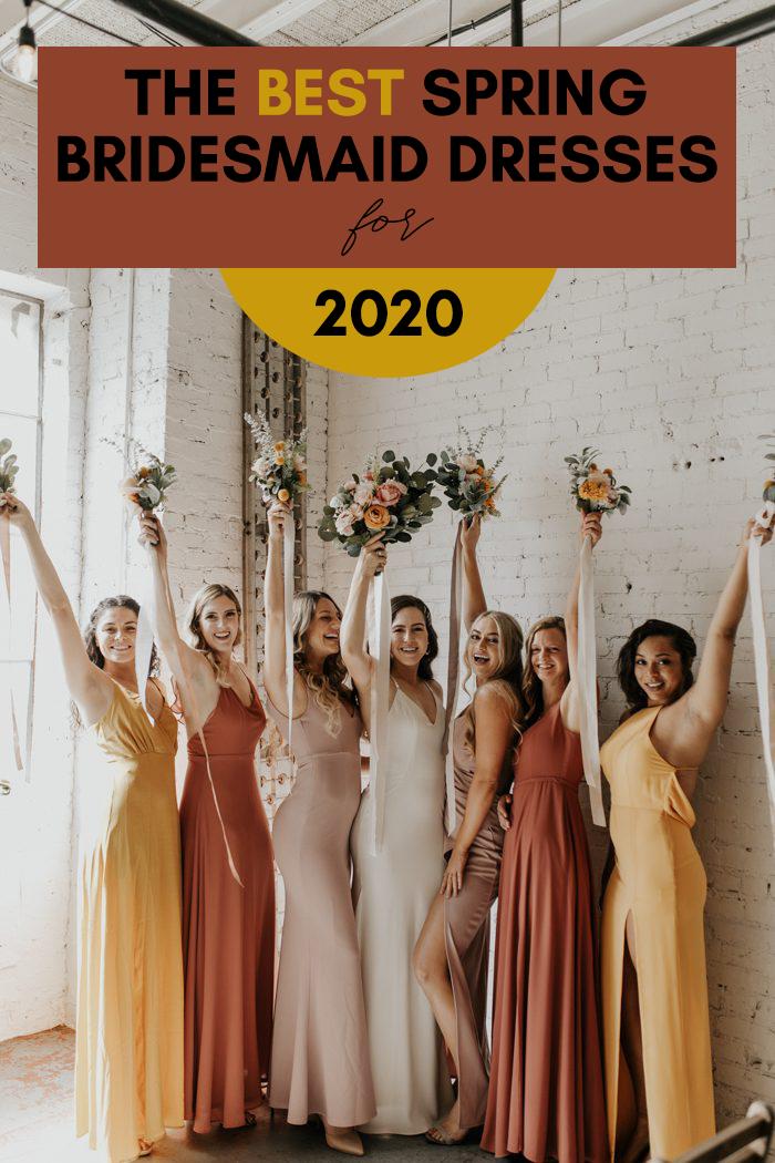 The Best Spring Bridesmaid Dresses 2020 Junebug Weddings