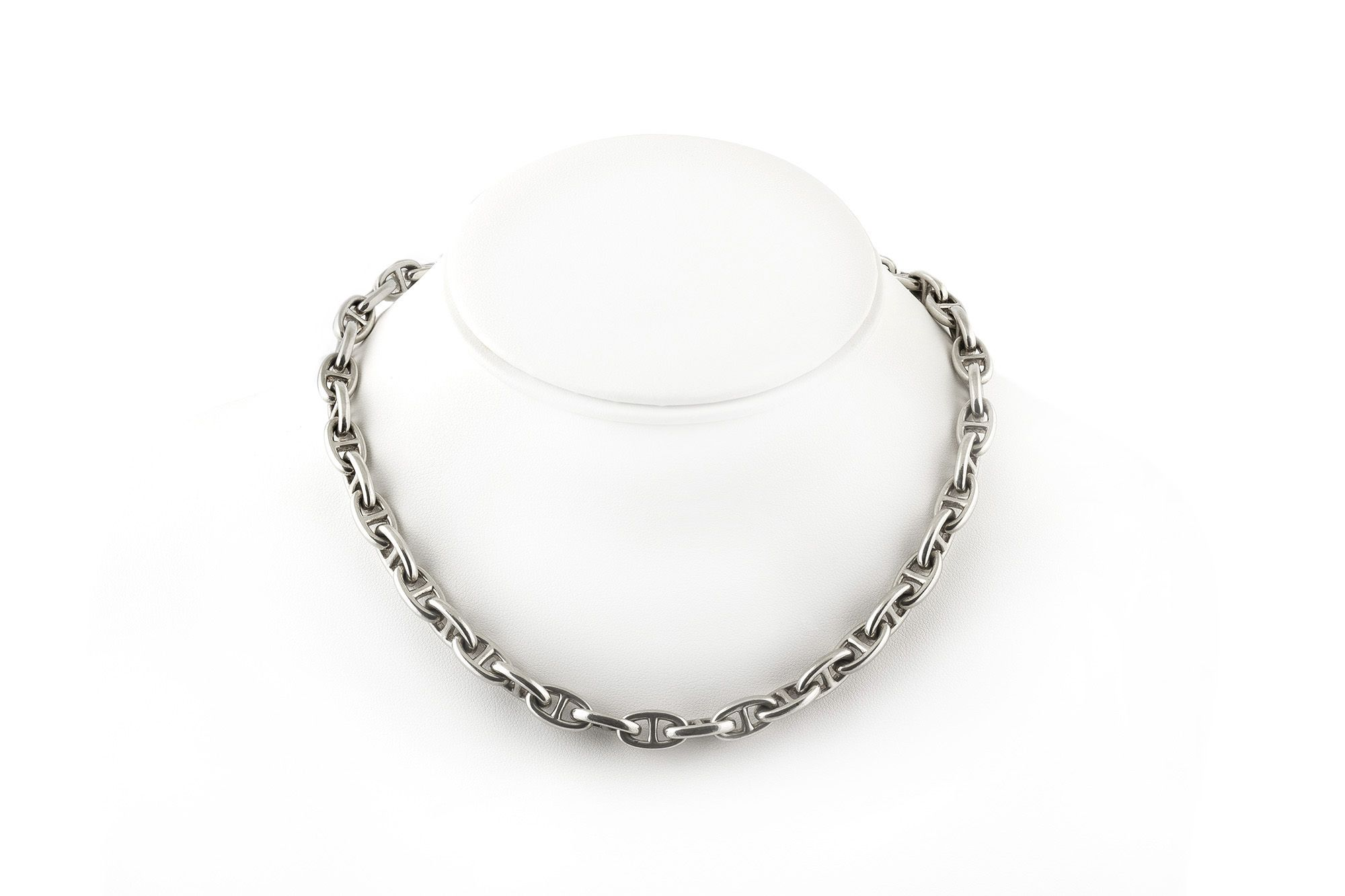 6b423fc841 Hermes Sterling Silver Chaine d'Ancre Necklace | Necklaces | Hermes ...