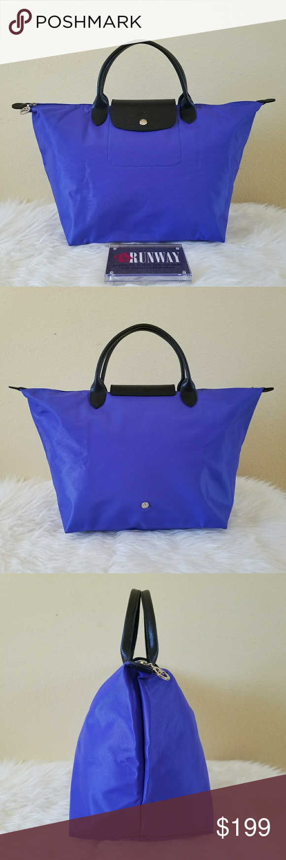 c351936268eb Longchamp Le Pliage Type M Sarah Morris Longchamp Le Pliage Type M Sarah  Morris Limited Edition (Made in France) in like new condition