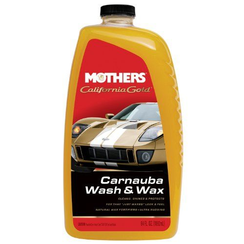 Mothers 056746 California Gold Carnauba Wash Wax 64 Oz Pack Of 6
