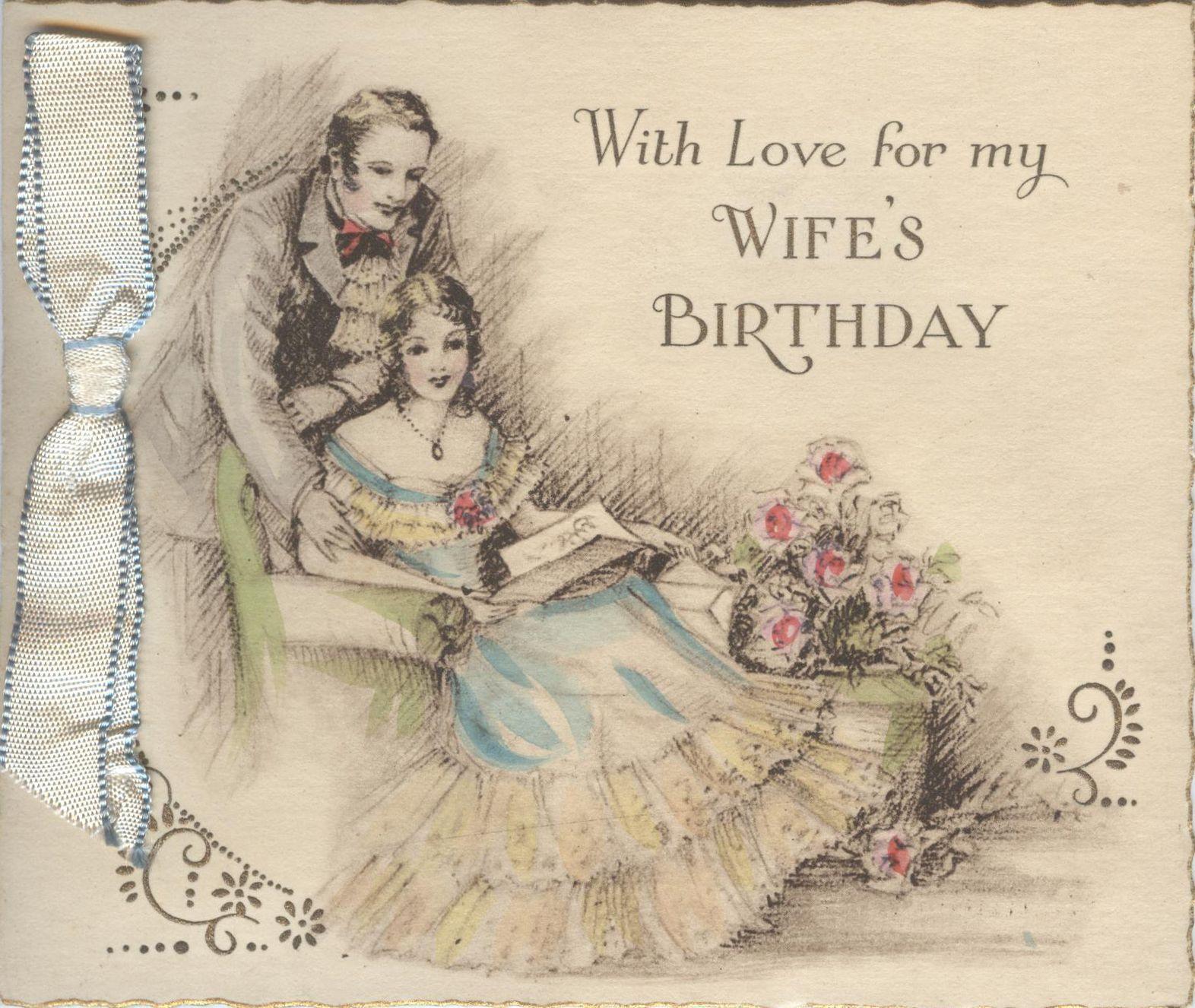 25 b 347 wifes birthday card hallmark greeting cards