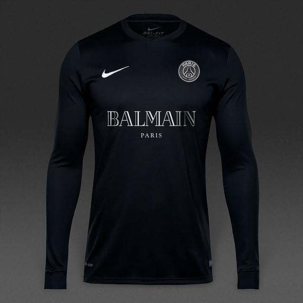51ae0e090 YZY Design - PSG x Nike x Balmain | Avenue Attire | Long sleeve ...