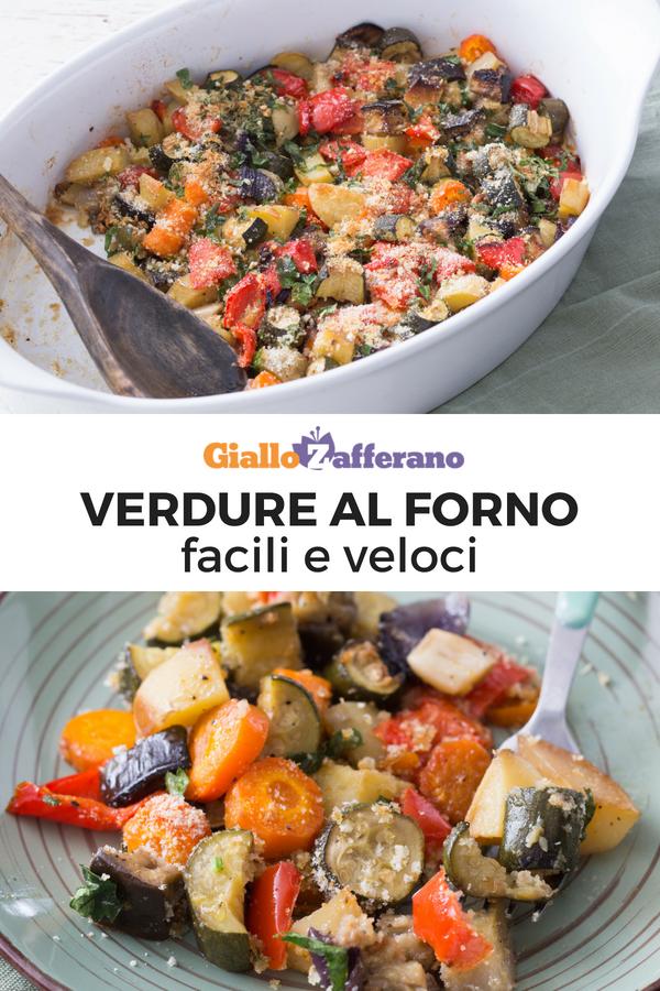 Verdure Al Forno Ricetta Nel 2019 Secondi Piatti Verdure Al