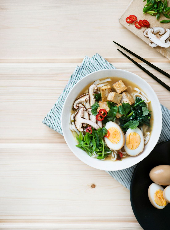 Ramen-keitto | K-ruoka #japani