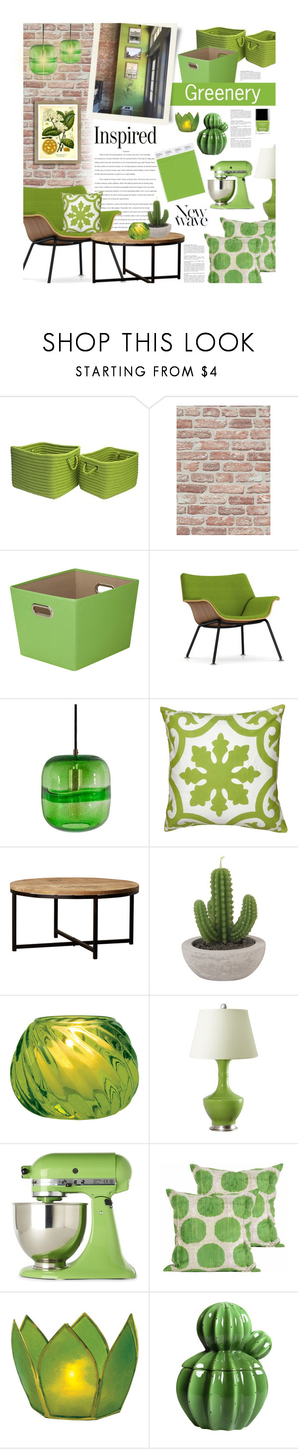 """""""Greenery"""" by ellergy ❤ liked on Polyvore featuring interior, interiors, interior design, home, home decor, interior decorating, Home Decorators Collection, BD Fine Wallcoverings, Honey-Can-Do and Herman Miller"""