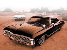 Chevy Impala 67 Raridade Chevy Impala 1967 Chevy Impala Carros Low Rider