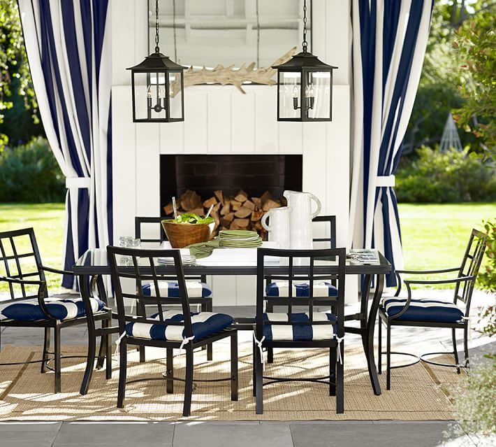 Explore Outdoor D Indoor And More Riviera Rectangular Dining Table