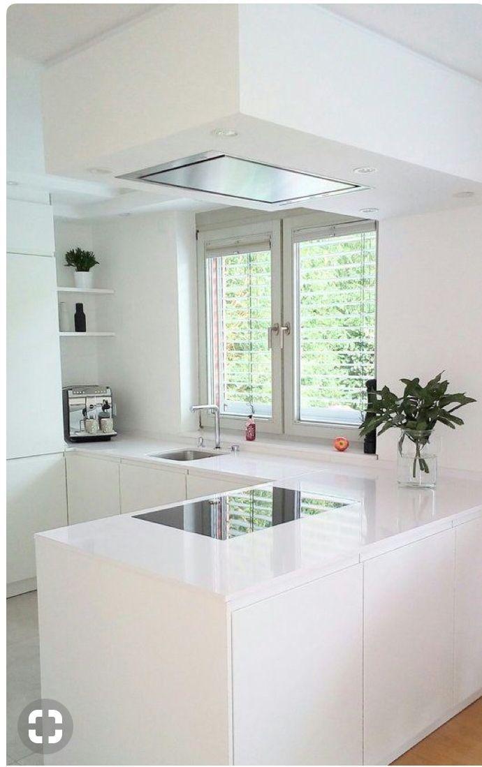 Hyllyt, ikkunan edusta käytössä, molemminpuolei... - #edusta #Hyllyt #ikkunan #käytössä #molemminpuolei #offene #contemporarykitcheninterior