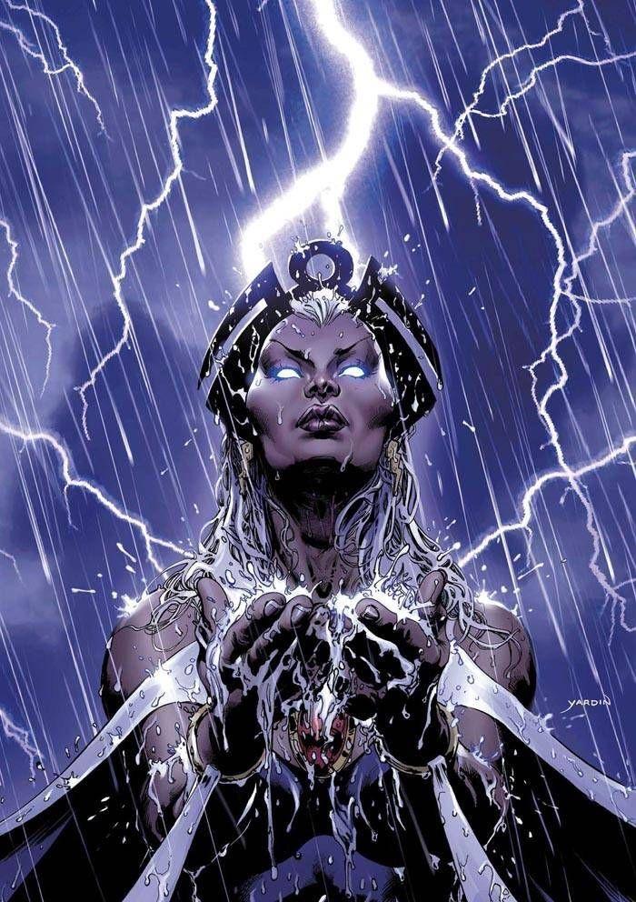 Storm vs  Starfire - Battles - Comic Vine | Comic Mania | X