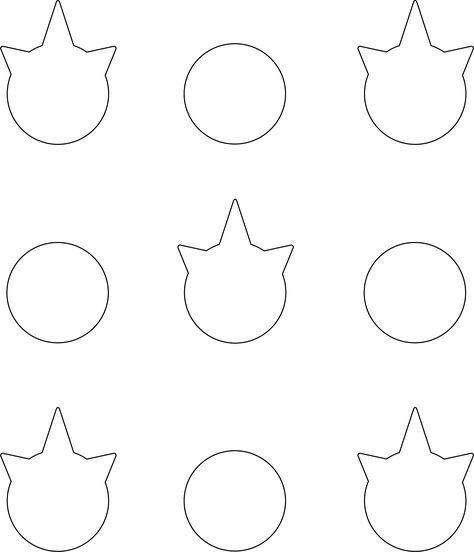 unicorn macarons basics pinterest unicorns template and macarons. Black Bedroom Furniture Sets. Home Design Ideas