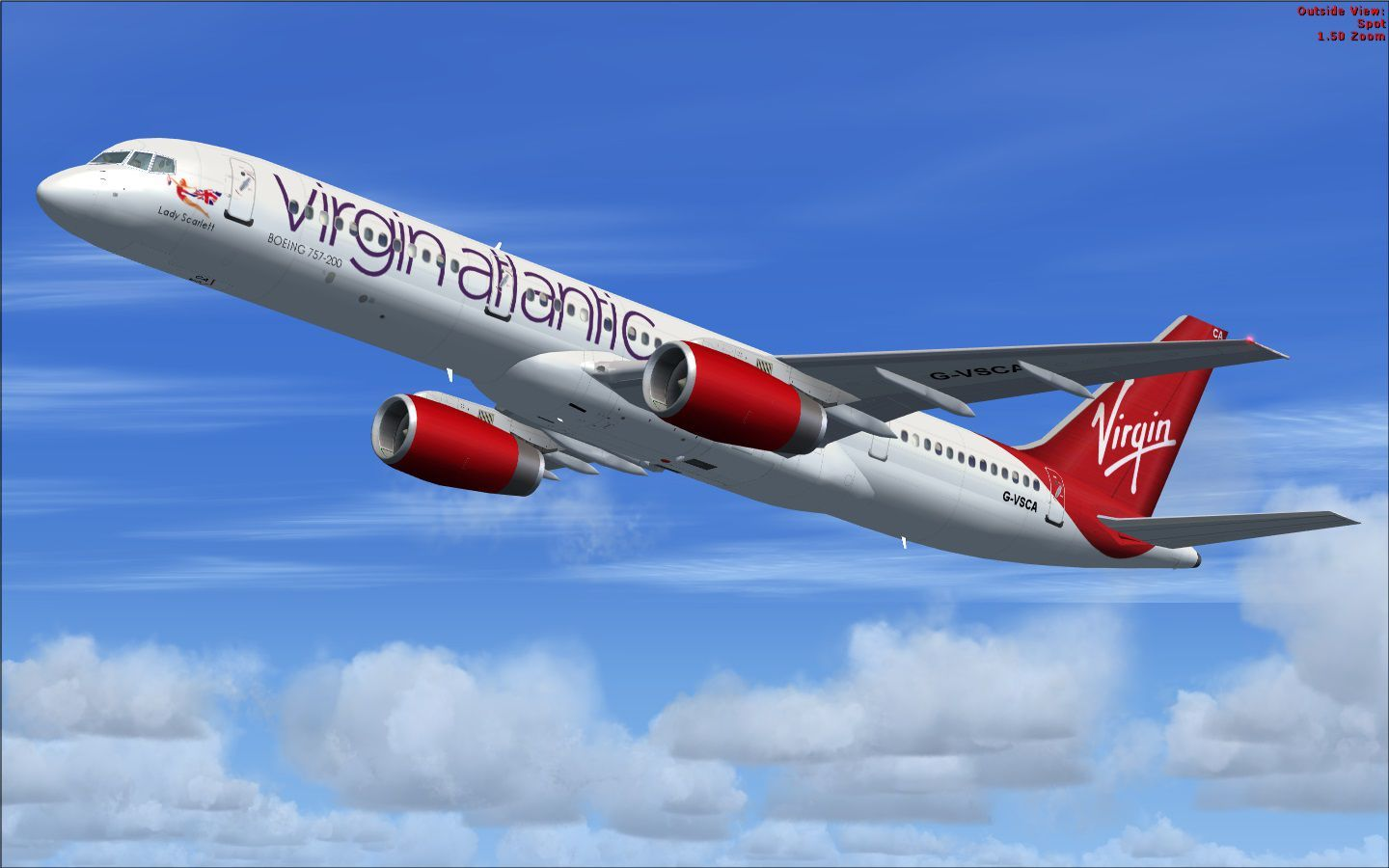 Virgin Atlantic Boeing 757-200