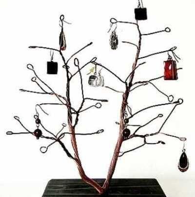 ideas originales para mostrar u organizar tus joyas