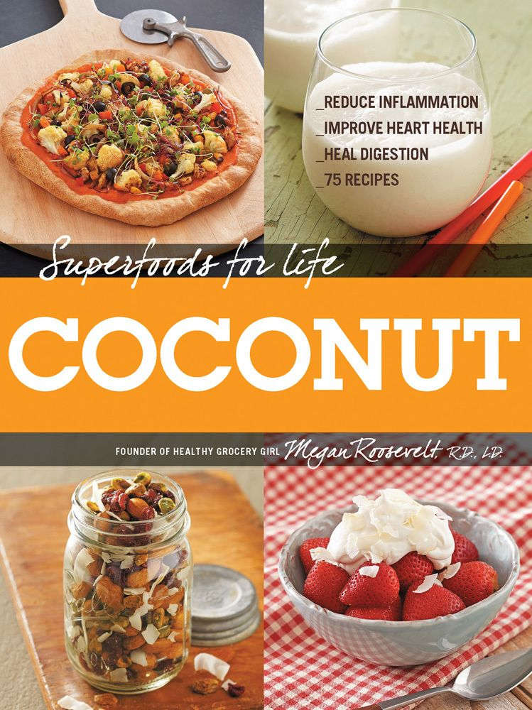 My Book! Superfoods for Life, Coconut