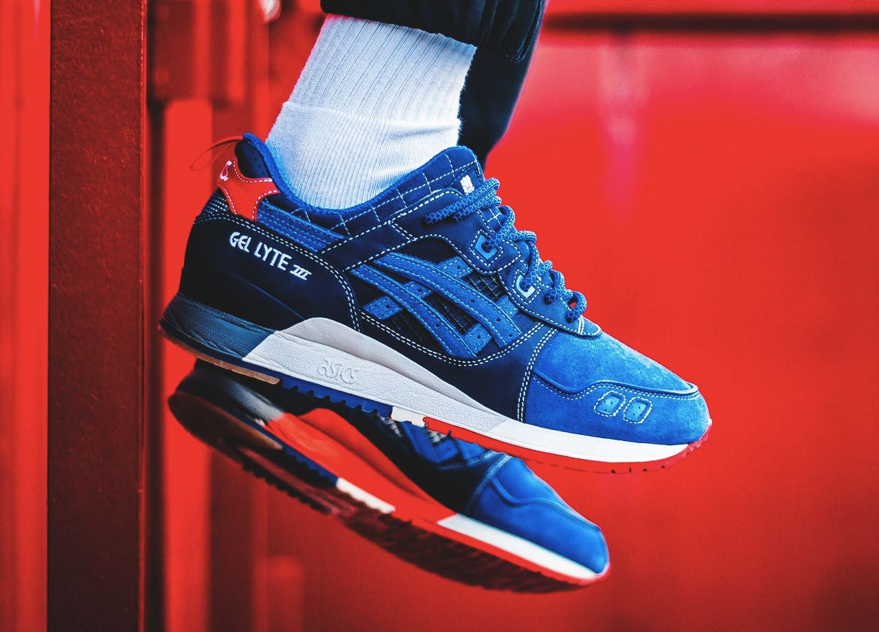 f870284dde21 mita sneakers x Asics Gel Lyte III  25th Anniversary  - 2015 (by Juba  Moussaoui) Clean and care for your sneakers with shoe trees by Sole Trees   Sneakers ...