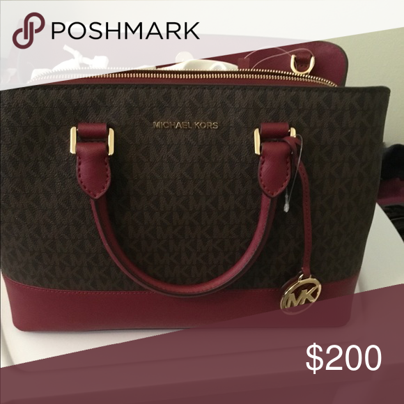 a5841c97be88 Michael Kors Purse Brand new Michael Kors purse. Never been outside or used.  Deep reddish burgundy color. Michael Kors Other