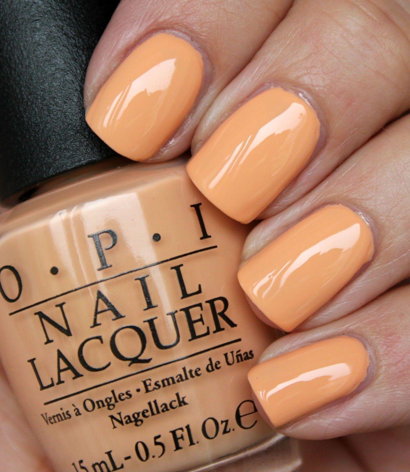 OPI - I\'m Getting a Tan-gerine   My favorite manicures   Pinterest