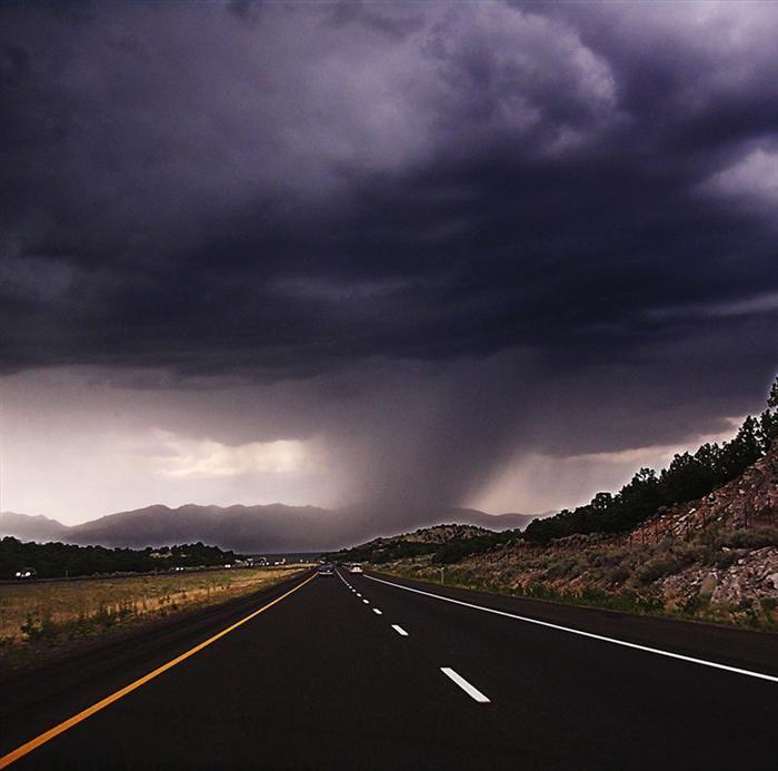 Beaver , Utah   Incredible storm clouds
