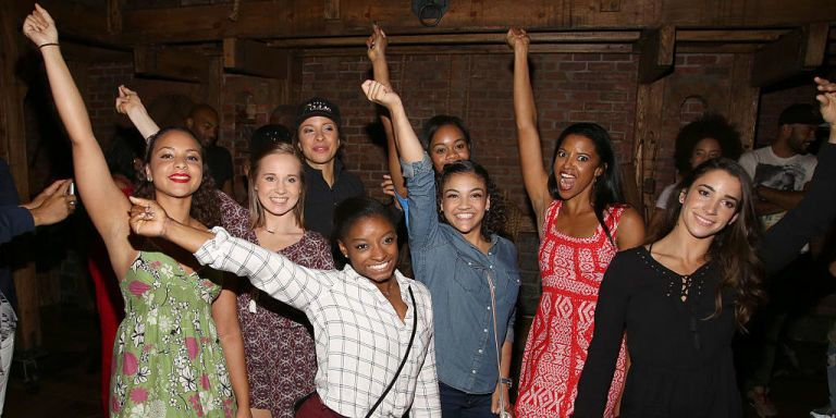 The Final Five went to Hamilton! ​How lucky they are to be alive right now!​​