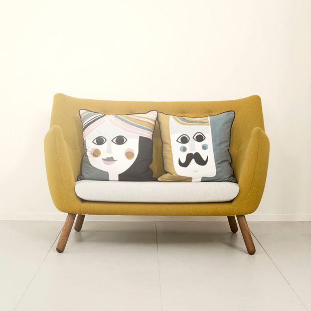 Her Cushion Pillows Cushions Silk Pillow
