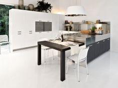 Cucina Tavolo A Scomparsa.Cucina Di Design Con Tavolo A Scomparsa Playground Kitchen