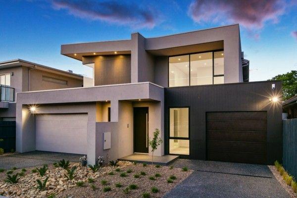 Einsatz von Granitplatten bei Fassaden moderner Häuser | Architektur ...