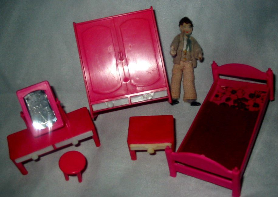 Elegant Bedroom Vintage Dollsu0027 Furniture | EBay