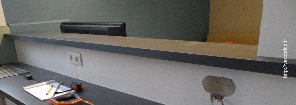 Comment fixer un plan de travail de bar House renovation - comment fixer un meuble au mur