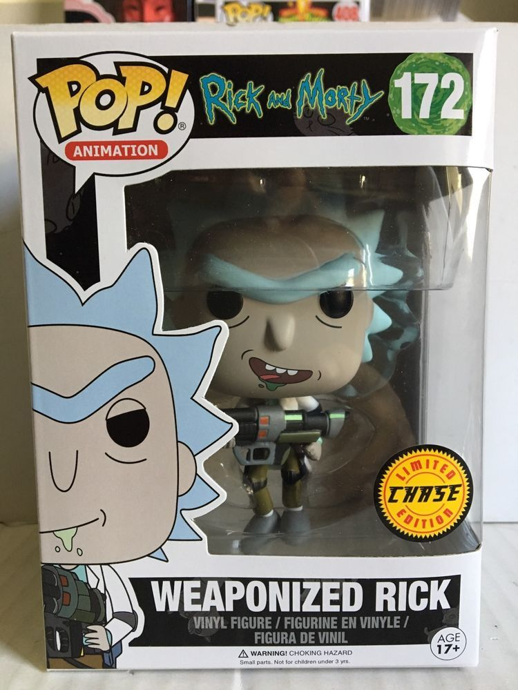 Funko Pop Vinyl Action Figure Rick and Morty Weaponized Rick