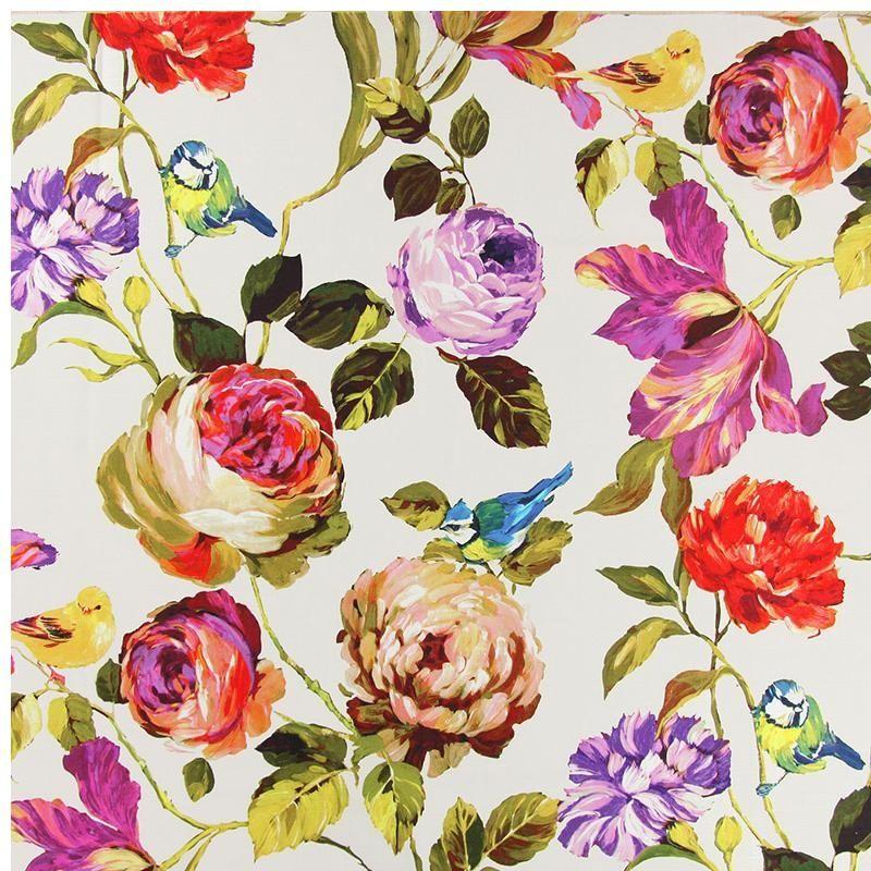 Floral Interior Fabric 11