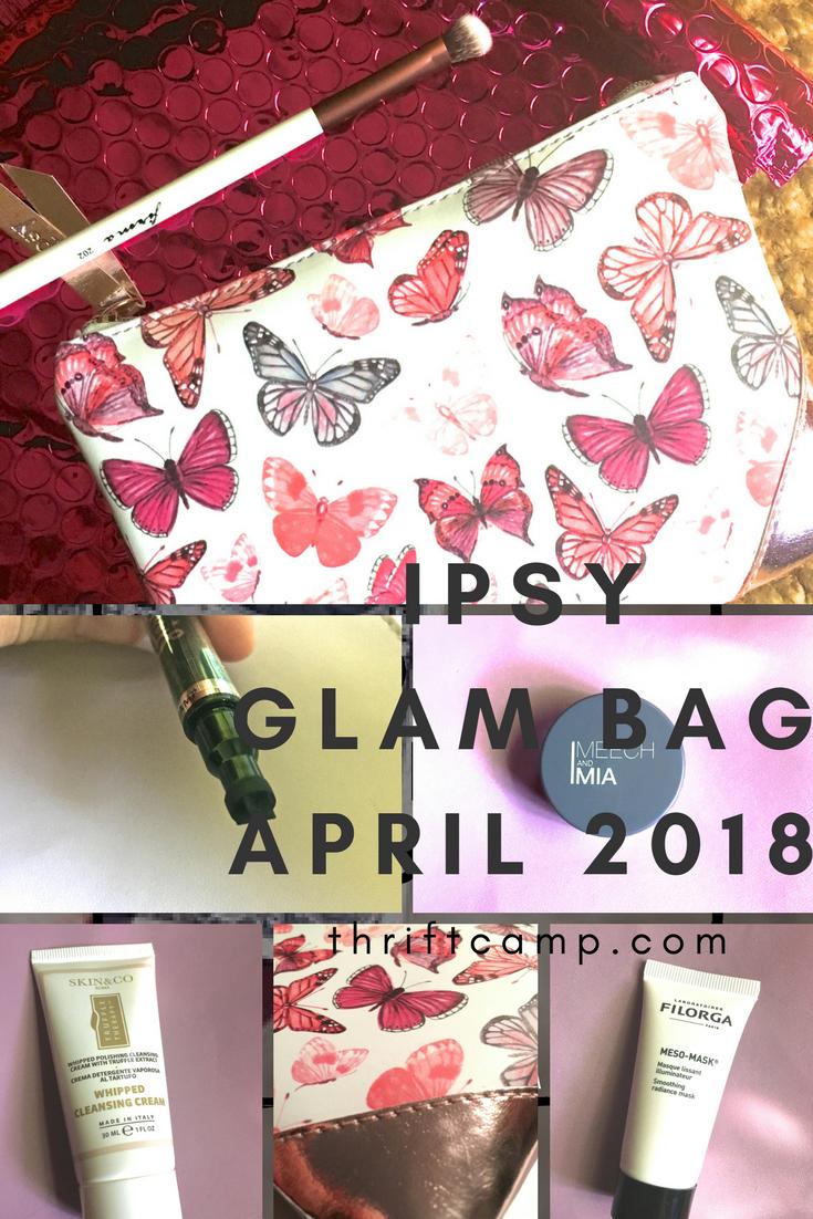 Ipsy Bag April | Brydens Xpress