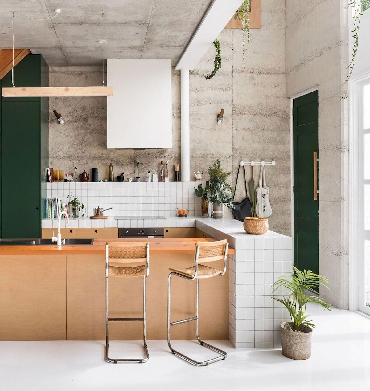 Déco couleur vert sapin  Kitchen design, Home decor kitchen
