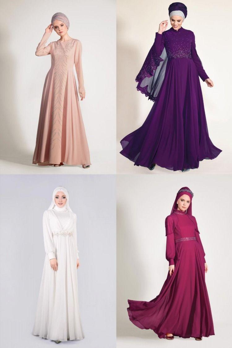 Alvina Tesettur Abiye Modelleri 2020 9 17 Evening Dress 2020 Abendkleid 2020 2020 Nedime Giysileri Elbise Modelleri Giyim