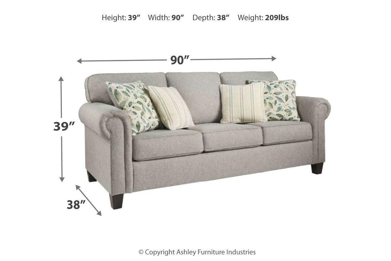 Best Alandari Queen Sofa Sleeper Ashley Furniture Homestore 400 x 300