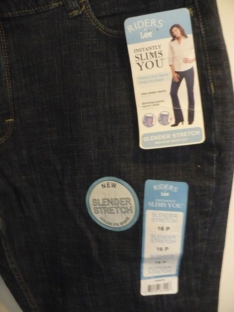 194b367a Riders Lee women's jeans Slender Stretch Slimming size 16 P Petite New Tags  #fashion #clothing #shoes #accessories #womensclothing #jeans (ebay link)