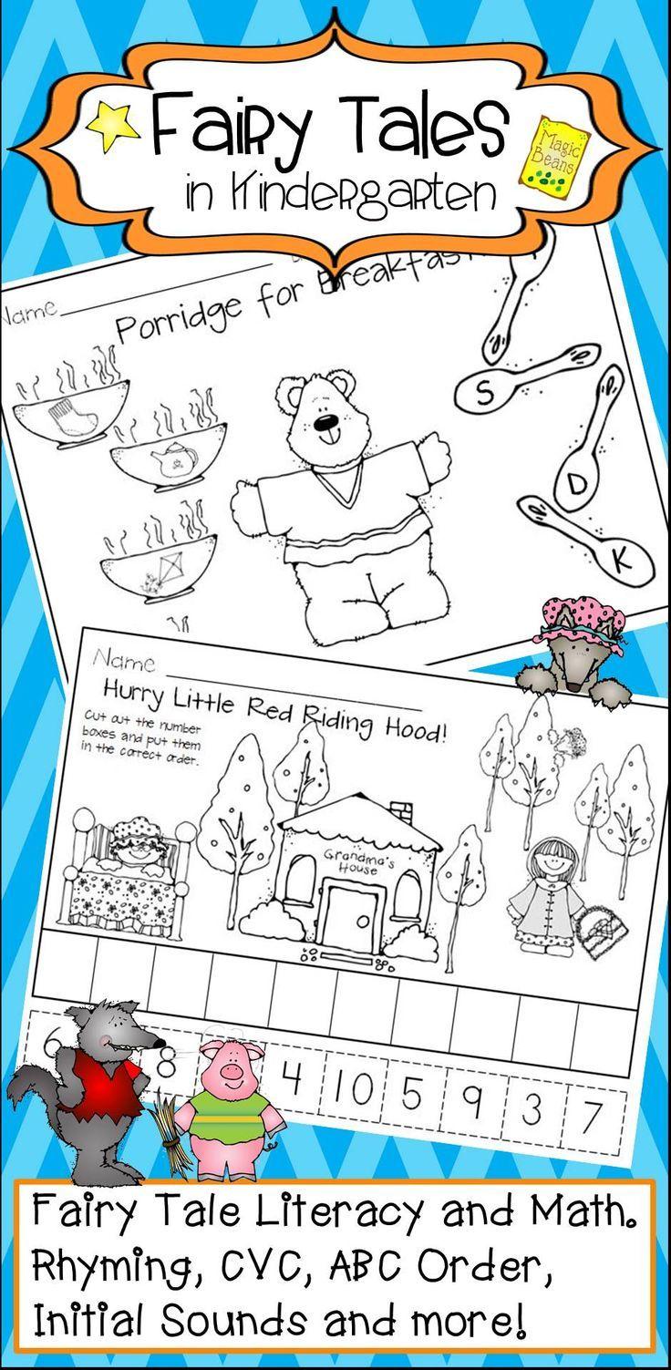 Fairy Tales Activities and Centers for Kindergarten | Pre-school ...