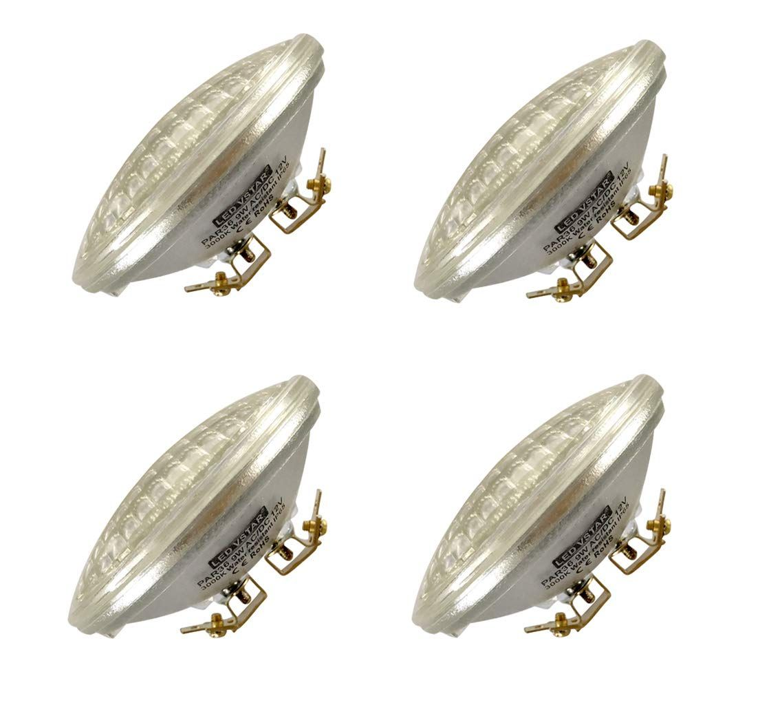 Vstar Led Par36 9w Eq To 50w Halogen 12v Ac Dc Lamp Landscape Waterproof 4 Pack Warm White Check This Awesome Product By Goin Warm White Led Bulb Halogen