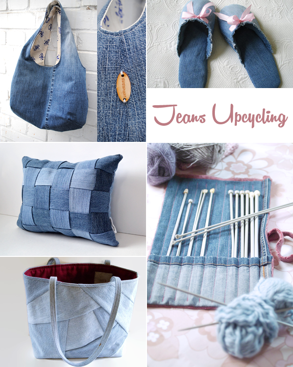 i love eco blog jeans upcycling recycled denim meu velho jeans pinterest jeans n hen. Black Bedroom Furniture Sets. Home Design Ideas