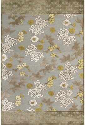 Feizy Rugs Saphir Mah Collection Pewter