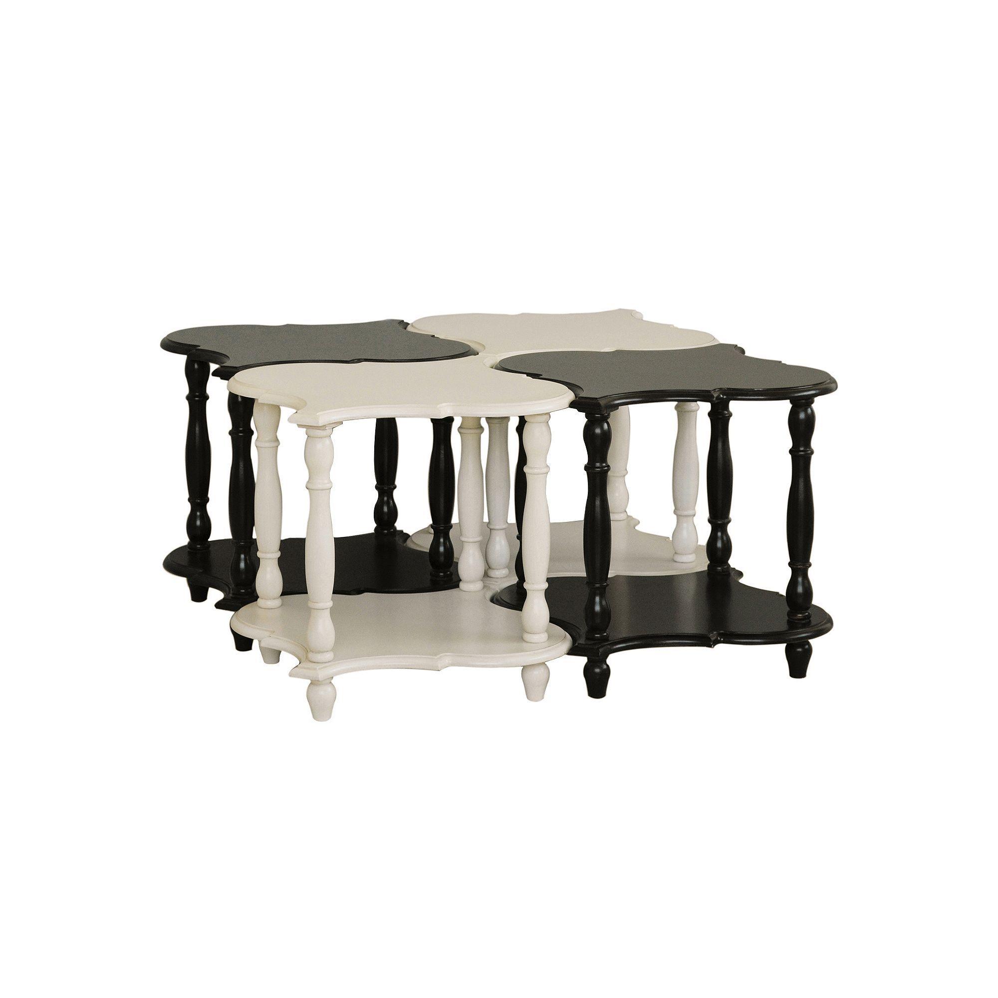 Pulaski Accent End Table 4-piece Set, Multicolor