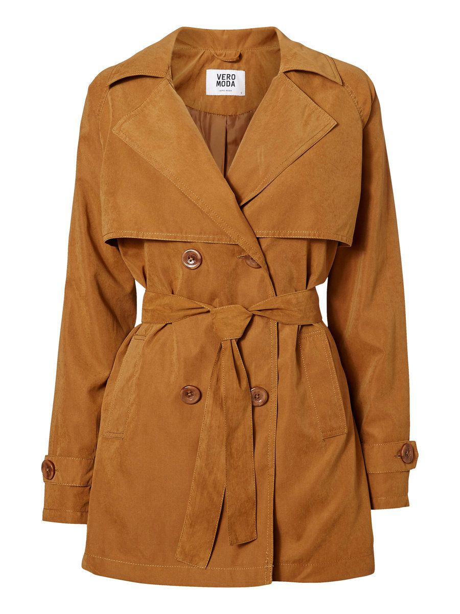 trench coat from vero moda we love the classic trench. Black Bedroom Furniture Sets. Home Design Ideas