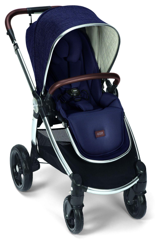 Mamas /& Papas Ocarro Reversible Seat Baby Stroller w Bassinet Dark Navy NEW 2017