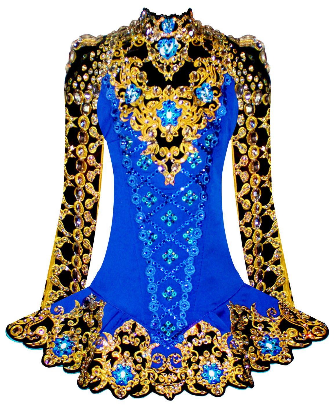 Large Irish Dancing Star Dress Bag