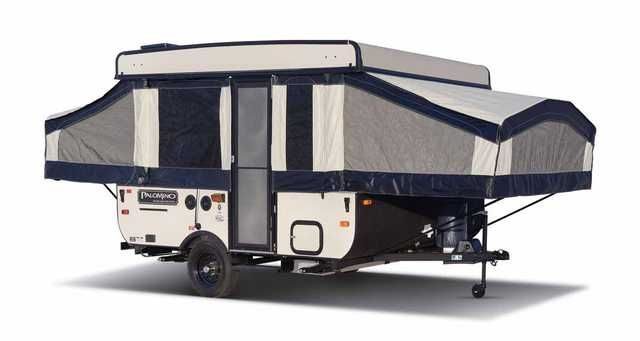 2016 New Forest River Palomino Base Camp 10b Pop Up Camper In